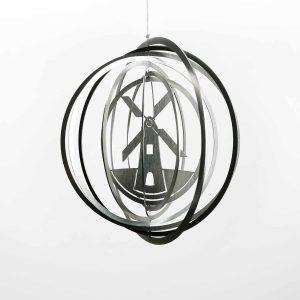 Edelstahl Manufaktur Windspiel Windmühle